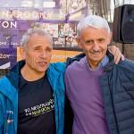 S kamarátom a lídrom klubu Petrom Polákom, ktorý tento rok zabehol svoj 42. MMM a celkovo svoj dvestý maratón