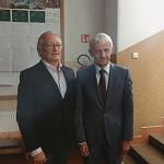 Mikuláš Dzurinda a riaditeľ gymnázia RNDr. Vasil Dorovský