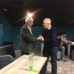 Mikuláš Dzurinda počas verejnej diskusie s občanmi Detvy
